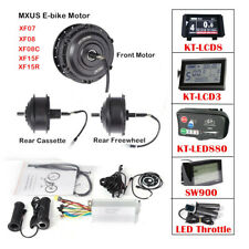 Ebike Conversion Parts with MXUS front/rear Brushless Motor Controller Display