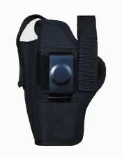 Nylon Belt Gun Holster FITS Glock 17, 19, 22, 20, 21, 31, 33 (100% Made in USA)