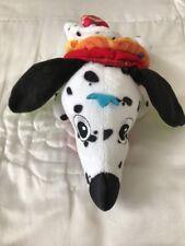 Pull Vibrating Dalmatian Toy Dog Early Learning Nursery Pram Baby Lamaze Used