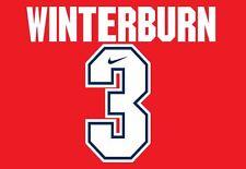 Winterburn #3 Arsenal Camisa de fútbol local para hogar 1994-1995