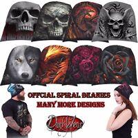 Spiral Direct Light Cotton Beanies/Music/Skull/Rock/Metal/Dragon/Biker/Gift/Hat