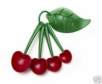 Mon Cherry Measuring Spoons and Egg Separator Cooking Baking Home Gift by Ototo
