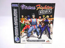 Anleitung - Handbuch - Bedienungsanleitung Sega Saturn - Virtua Fighter Remix