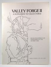 Valley Forge II Supplement to TSR Valley Forge Wargame David A Wesely Rare, Warg