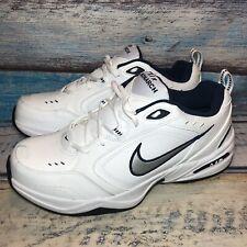 Men's Nike Monarch IV Training Shoe (4E) White/Silver/Navy 12.5 416355 102