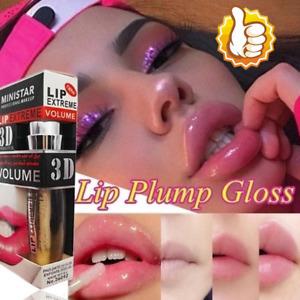 Shiny Lip 3D Sexy Super-Volume Plumper Plumping Lip Gloss Doll Lipstick Liprouge