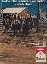 Marlboro Zigaretten - Reklame Werbeanzeige Original-Werbung 1972 (3)