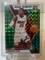 2019-20 Panini Mosaic Green Prizm Kendrick Nunn - Heat Rookie Debut SP Card