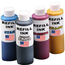 1 X 125ml and 3 X 60ml Refill Ink Fits Epson 73n 132 133 138 140