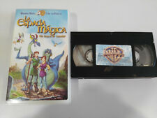 THE SWORD MAGIC IN SEARCH OF CAMELOT - VHS TAPE TAPE SPANISH