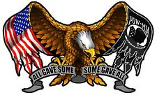 """All Gave Some Some Gave All Eagle 3"""" Decal FREE SHIPPING"""