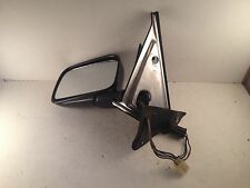 85-87 VW MK2 Golf Jetta Left Side Power Rear View Mirror Factory Black Paint