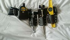 NEW Builder's Mate 4 Pocket Scaffold Tools Belt Set With tools