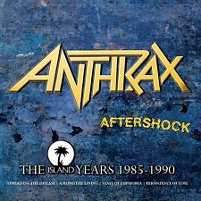 ANTHRAX - AFTERSHOCK: THE ISLAND YEARS 1985-1990 4CD SET (October 7th 2013)