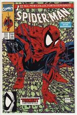 SPIDER-MAN #1 Marvel Comics SIGNED BY TODD McFARLANE! Rare Amazing Spawn TORMENT