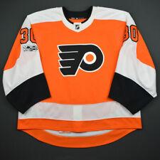 2017-18 Michal Neuvirth Philadelphia Flyers Game Used Worn Hockey Jersey MeiGray