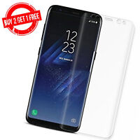 Samsung Galaxy S8 Full Coverage Clear Anti-Bubble 3D Film Screen Protector