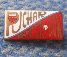 FIS BESKIDY CUP SKI JUMPING NORDIC COMBINED POLAND SZCZYRK 1970's PRESS PIN