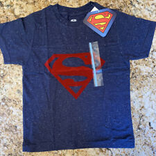 Superman Boys Blue Logo Shirt 5T New With Tags