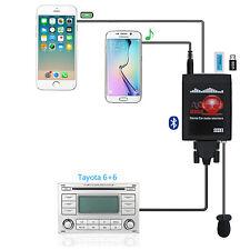Car Aux+USB Adapter Bluetooth Stereo Radio Interface For Yaris Tacoma RAV4 Lexus