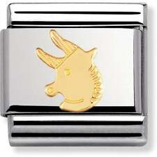 BRAND NEW GENUINE NOMINATION CLASSIC 18ct GOLD TAURUS ZODIAC ITALIAN CHARM