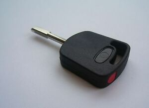 FORD COMPATIBLE  RED TRANSPONDER TIBBE KEY complete with ID4C Chip