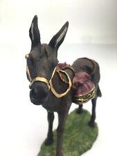 Hawthorne Village Donkey Thomas Kinkade Blessed and Holy Night Nativity