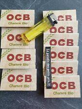 feuille à rouler OCB BIO ,10 carnets de 100 feuilles OCB chanvre BIO