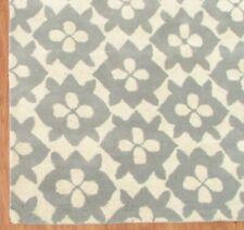 Diamond Basic Porcelain Blue Color Hand Tufted Modern Style Woolen Area Rug