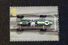Jim Clarke in Lotus 25 Climax (1963) Grand Prix image on 2007 Stamp - U/M