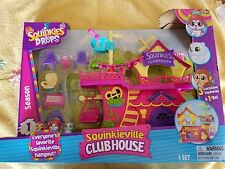 Squinkies Squinkieville Playset Club House Do Drops Colletible Pretend Play *NEW