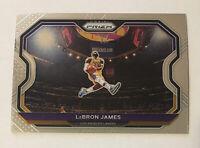 2020-21 Panini Prizm Lebron James #1 Kobe Tribute Dunk