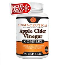 Apple Cider Vinegar Capsules – Blood Sugar, Weight Loss & Digestion Detox Sup...