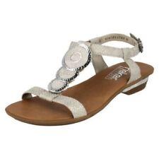 Sandali e scarpe t bar Rieker per il mare da donna
