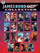James Bond 007 Collection For Clarinet (Book & CD)