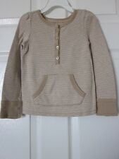 Baby Gap Girls' 100% Cotton Long Sleeve Striped Tee  Size 4 T