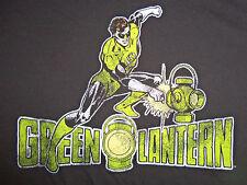 DC Comics Green Lantern Super Hero Black Graphic Print T Shirt - XXL