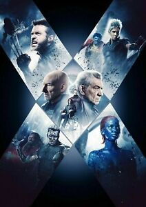 248359 X Men Movies Super Cool Collection Art PRINT POSTER WALL UK