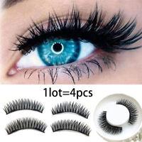 1Pair Magnetic False Eyelash Double Magnet  Magnetic Lashes Natural Eyelashes SM