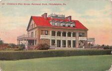 Postcard Children's Play House Fairmount Park Philadelphia PA