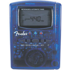 Fender Mt-1000 Metronome & Tuner - Clear Blue , New!