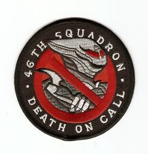 + SPACE 2063 SPACE ABOVE AND BEYOND Aufnäher Patch 46TH SQUADRON DEAH ON CALL