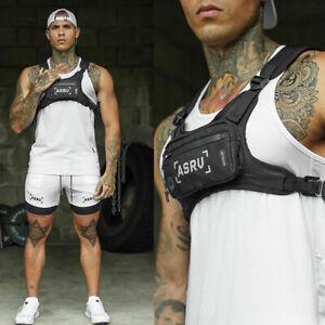 New Chest Rig Bags Tactical Harness Chest Vest Travel Crossbody Shoulder Bag Men