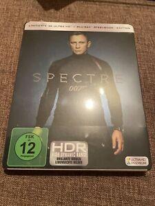 James Bond 007 - Spectre - 4K Ultra HD - Steelbook # UHD+BLU-RAY-NEU