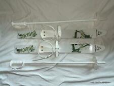 """Komperdell Rookie Child Toddler Snow Ski And Poles Childrens 26"""" NICE CONDITION!"""