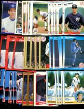 DAVE RIGHETTI  BULK LOT OF 100  CARDS NEW YORK YANKEES ONLY SAN JOSE CALIFORNIA
