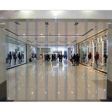 "Walk Pvc Strip Curtain 96"" x 84"" Refrigeration Cooler Freezer Warehouse Door Us"
