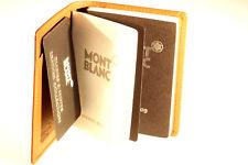 MONTBLANC NOTIZBUCH NOTIZBLOCK NOTEPAD Organizer AGENDA NEU MONT BLANC Timer