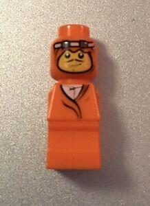 LEGO Ramses Pyramid Game Spares Pieces Tokens Orange Adventurer Microfigure EUC