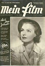 Mein Film 1948/17: Magda Schneider Cover m Berichten: Yves Montand + siehe Text,